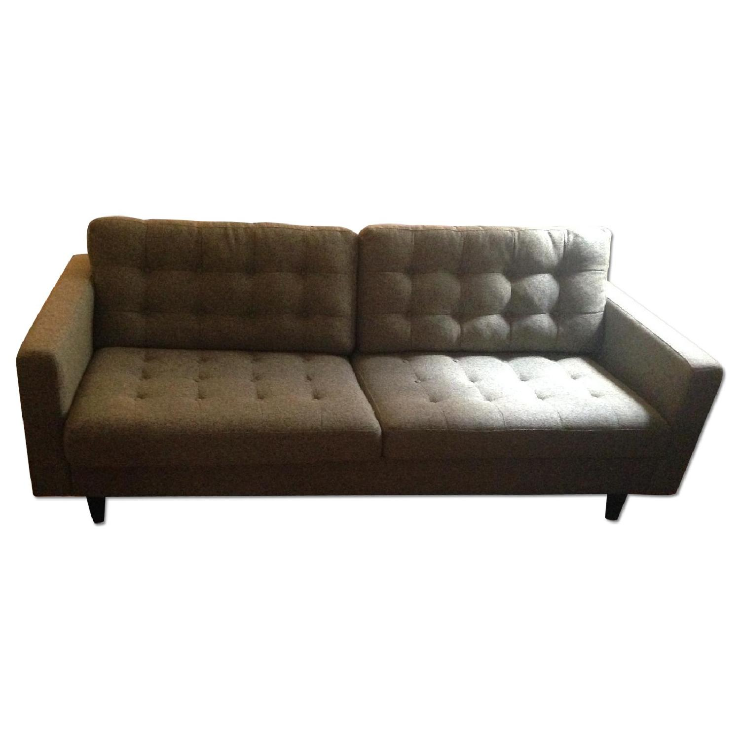 Modway Sofa in Oatmeal - image-0