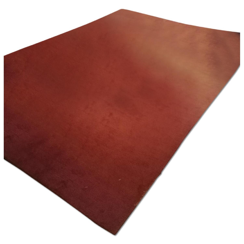 Lowes Orange Area Rug - image-0