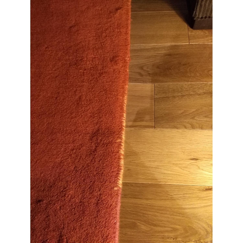 Lowes Orange Area Rug - image-5