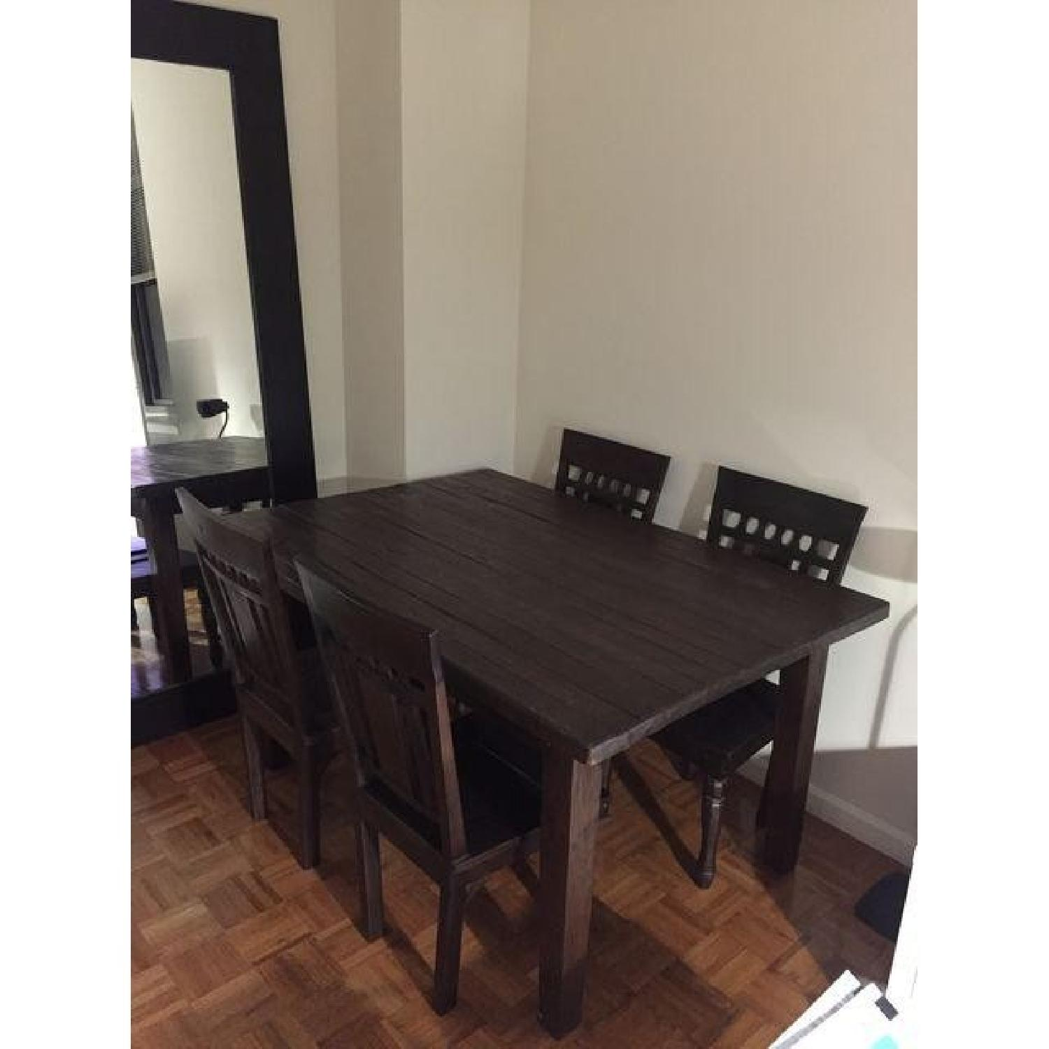 Far East Trading Co. 5 Piece Teak Dining Set - image-1