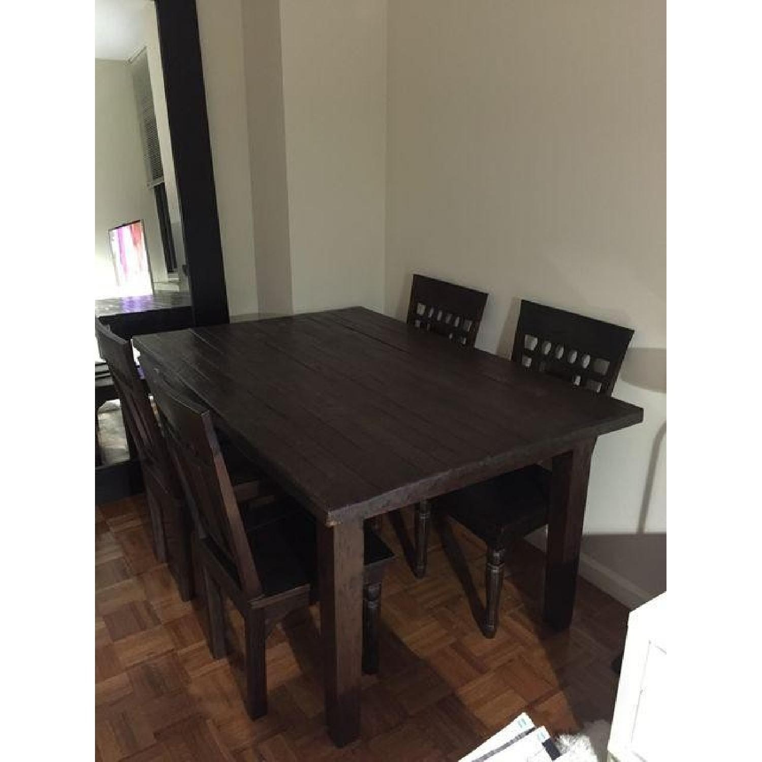 Far East Trading Co. 5 Piece Teak Dining Set - image-4
