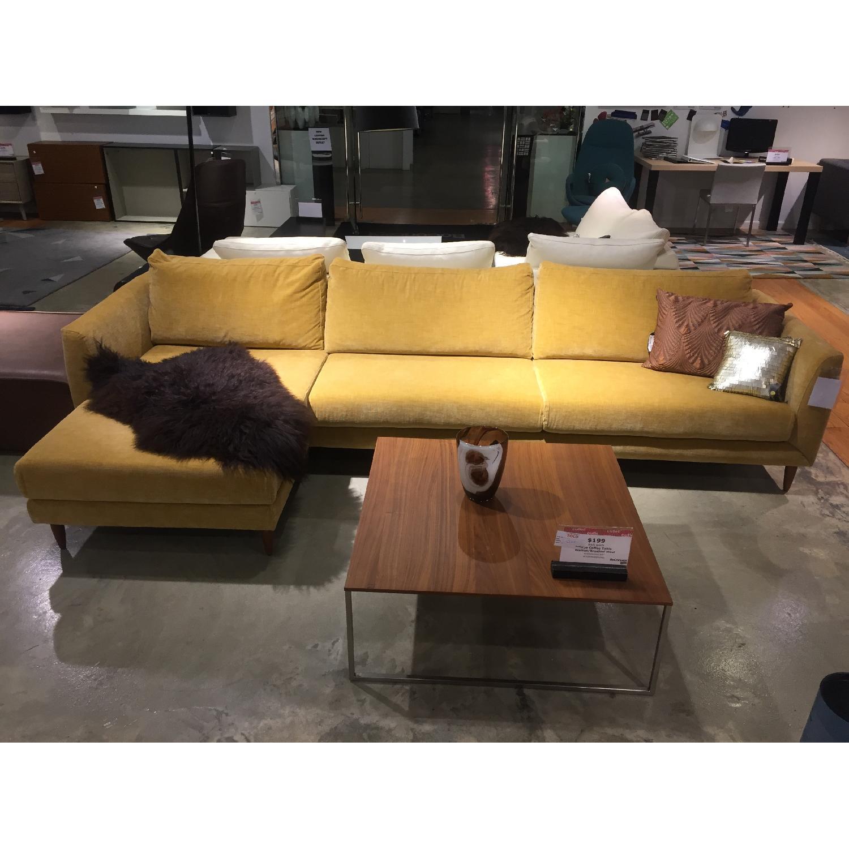 BoConcept Fargo Sectional Sofa in Golden Beige Napoli - image-1