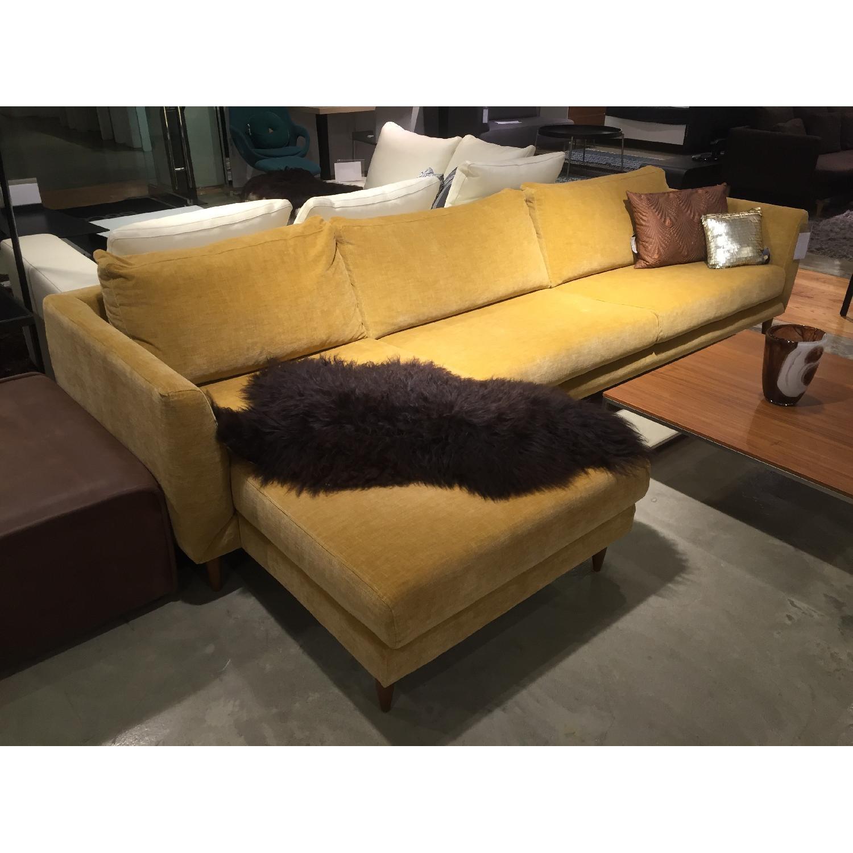 BoConcept Fargo Sectional Sofa in Golden Beige Napoli - image-2