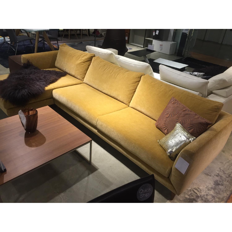 BoConcept Fargo Sectional Sofa in Golden Beige Napoli - image-3