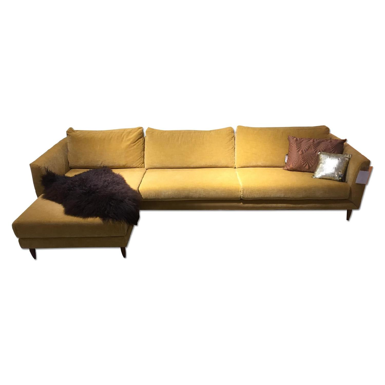 BoConcept Fargo Sectional Sofa in Golden Beige Napoli - image-0