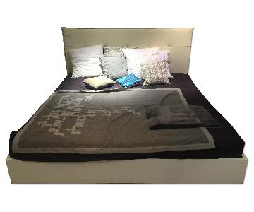 BoConcept Lugano King Bed Frame w/ Headboard
