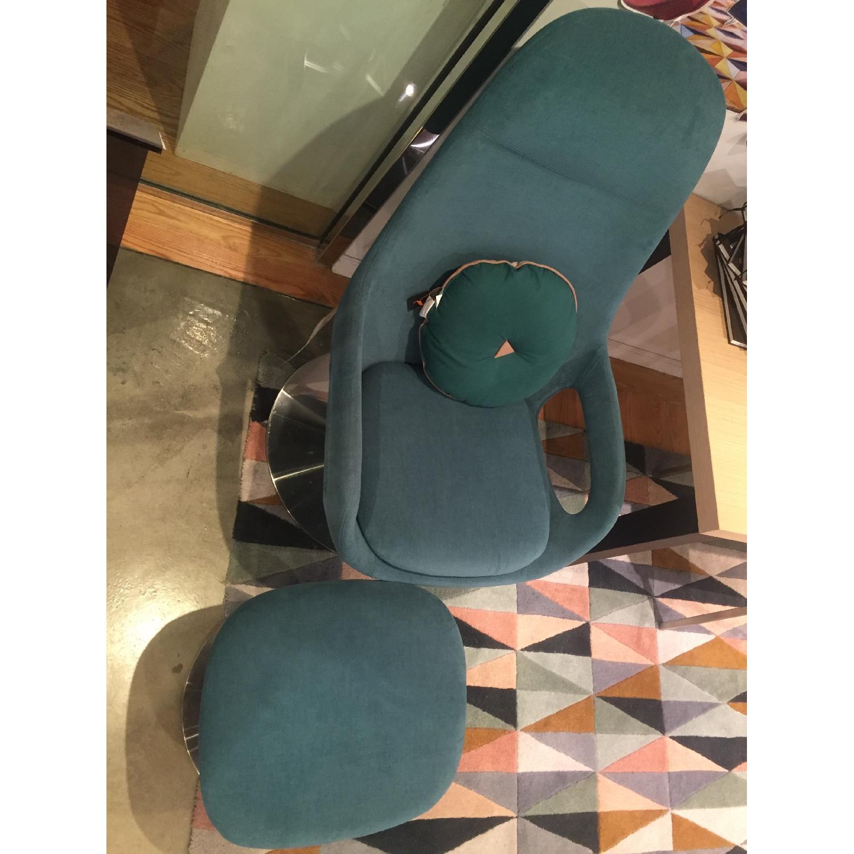 BoConcept Smartville Chair & Footstool - image-6