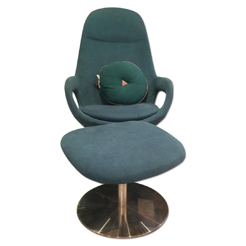 BoConcept Smartville Chair & Footstool - image-0