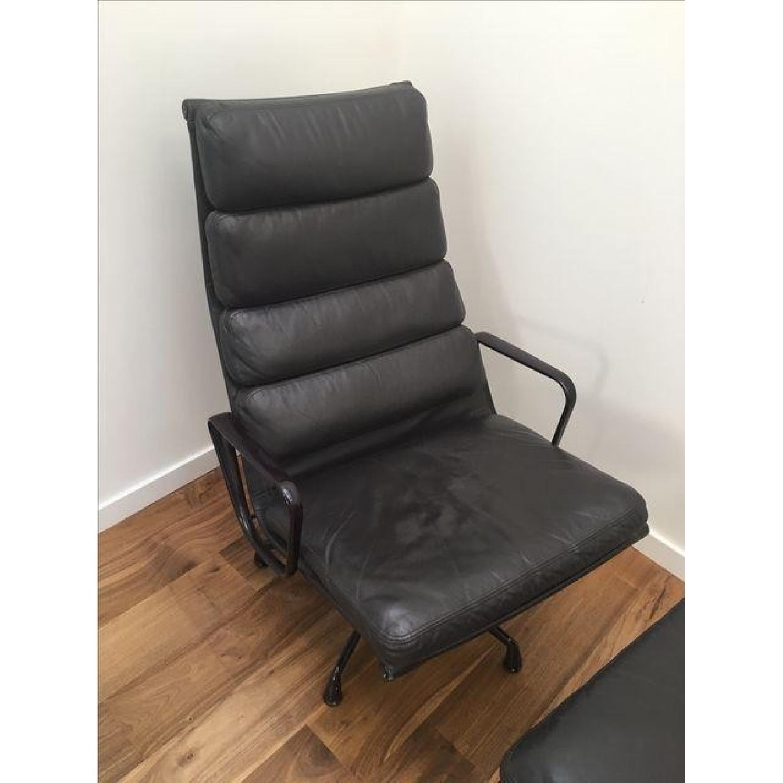 Eames EA 438 Lounge Chair & Ottoman - image-5