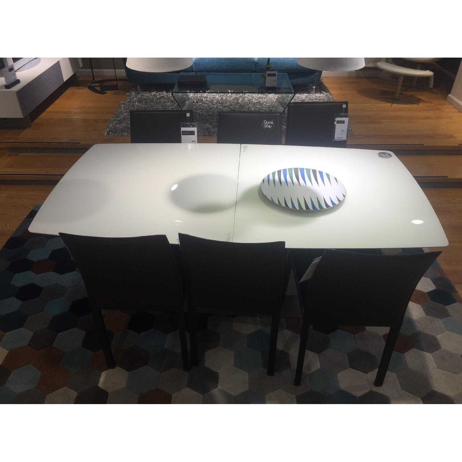 BoConcept White MIlano Dining Table - image-1