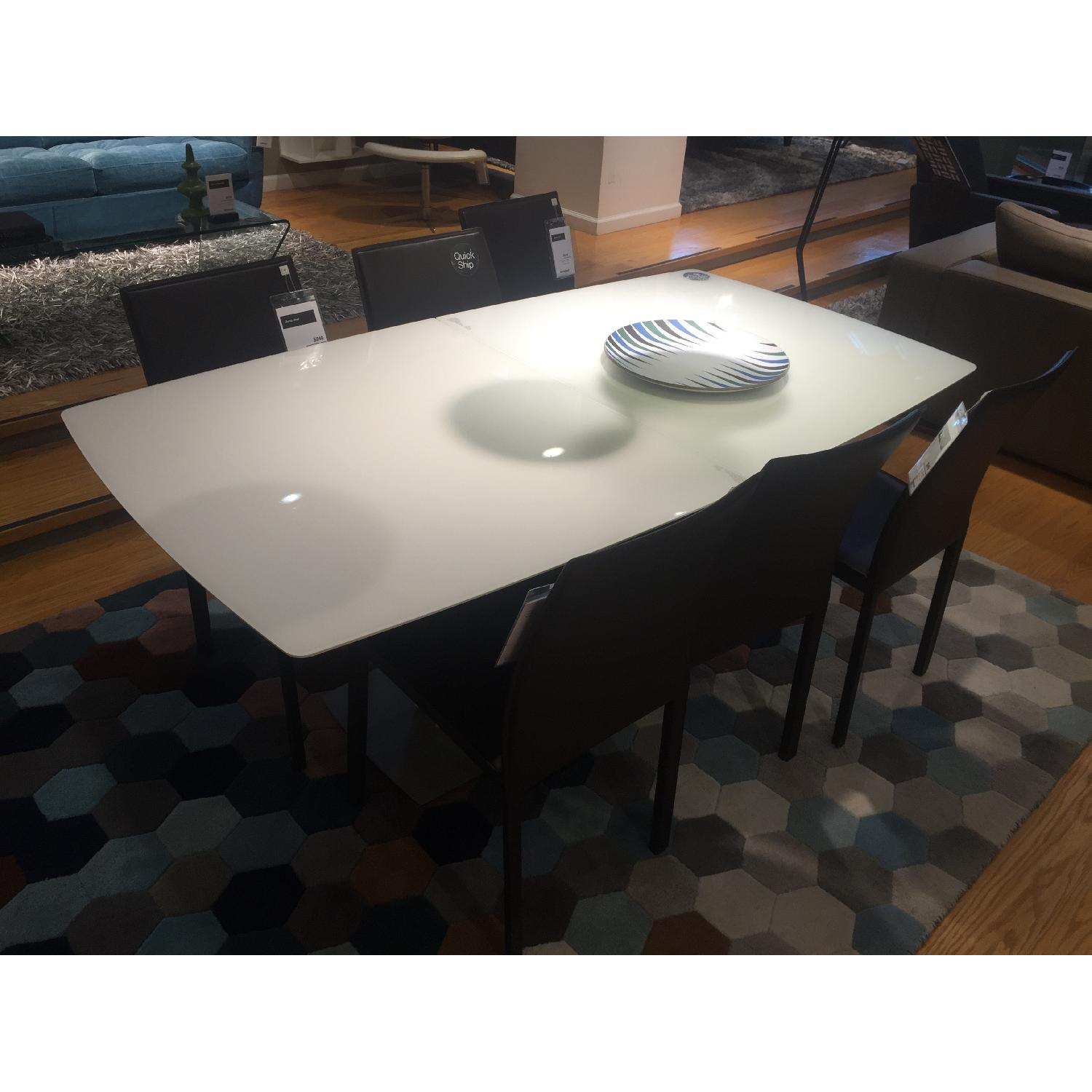 BoConcept White MIlano Dining Table - image-2