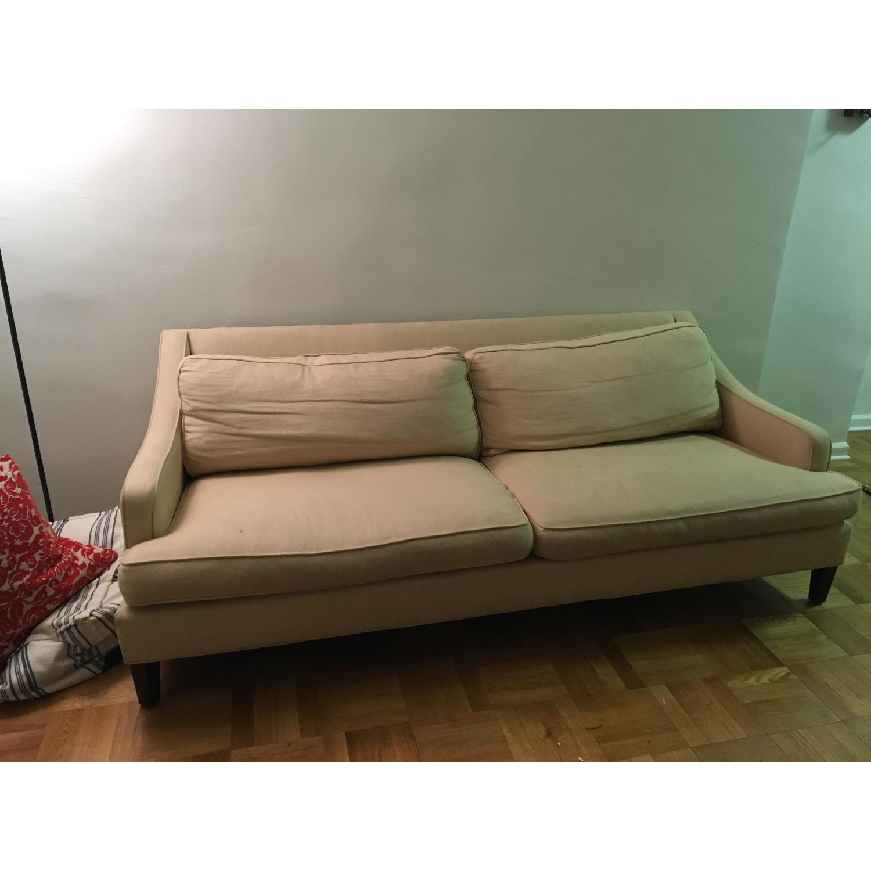 Pottery Barn Landon Upholstered Sofa - image-1