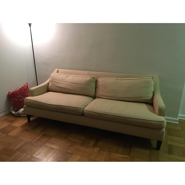 Pottery Barn Landon Upholstered Sofa - image-3