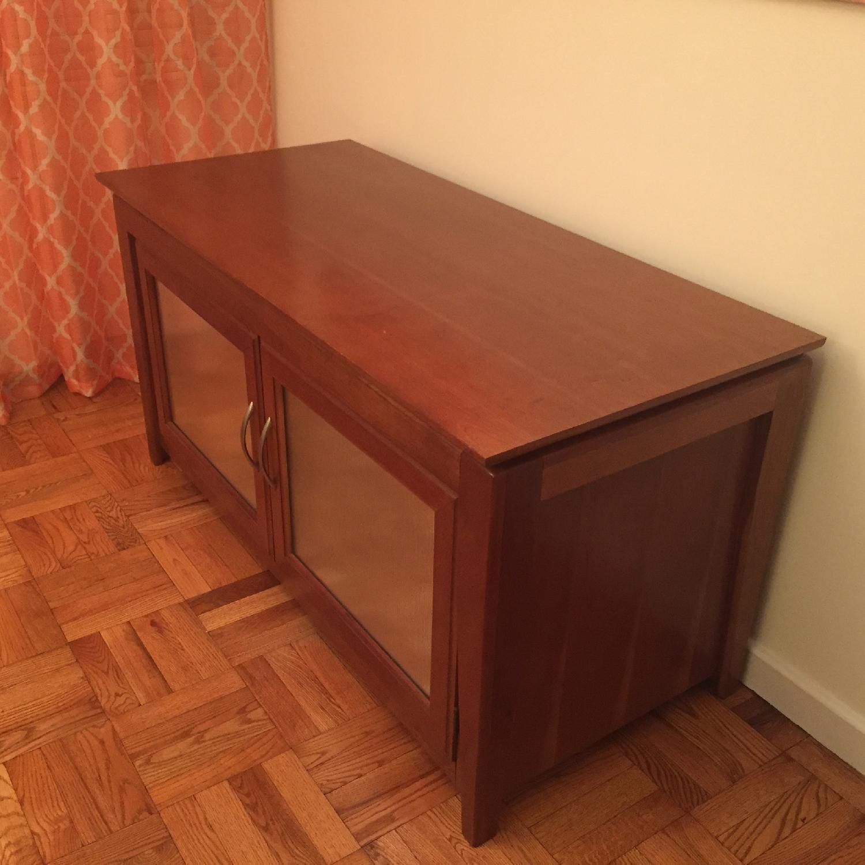 Hooker Media Cabinet/TV Console w/ Removable Shelves - image-2