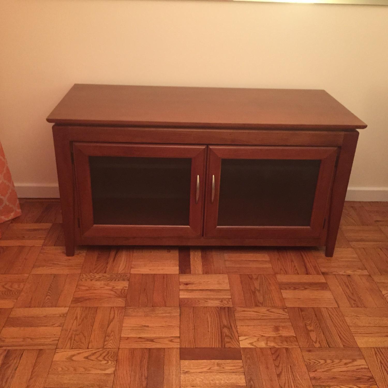 Hooker Media Cabinet/TV Console w/ Removable Shelves - image-4