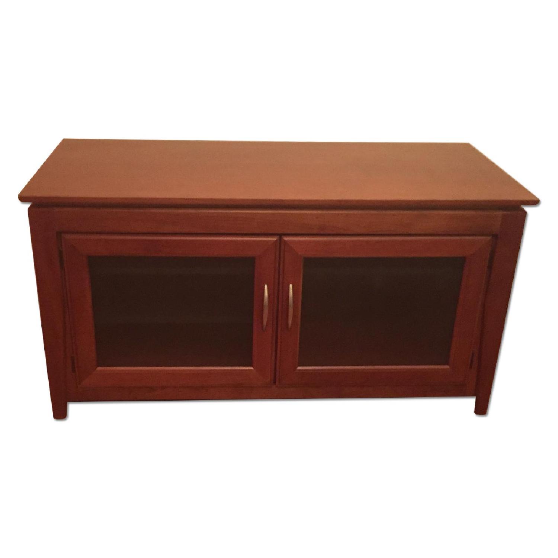 Hooker Media Cabinet/TV Console w/ Removable Shelves - image-0