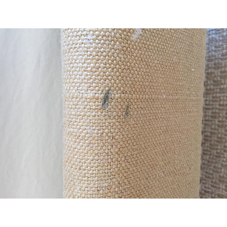 West Elm Nailhead Upholstered Full Bed Frame + Storage Bench - image-4