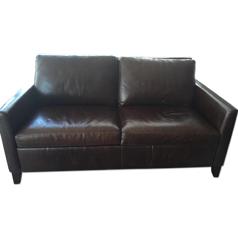Raymour & Flanigan Tempurpedic Queen Sleeper Sofa - image-0