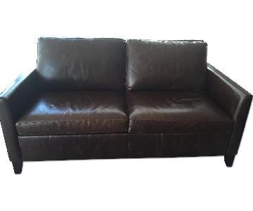 Raymour & Flanigan Tempurpedic Queen Sleeper Sofa