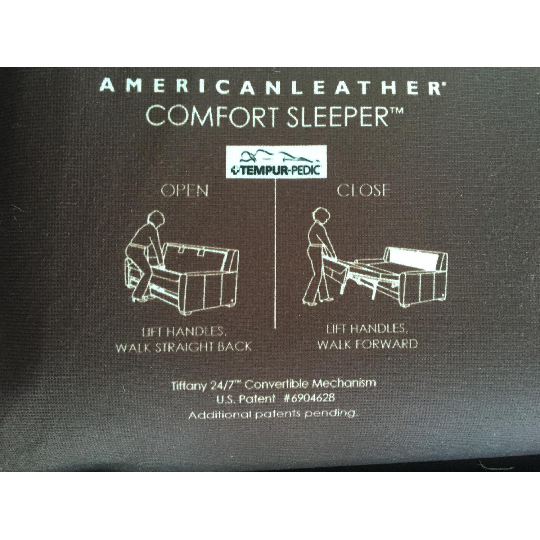 Raymour & Flanigan Tempurpedic Queen Sleeper Sofa - image-7