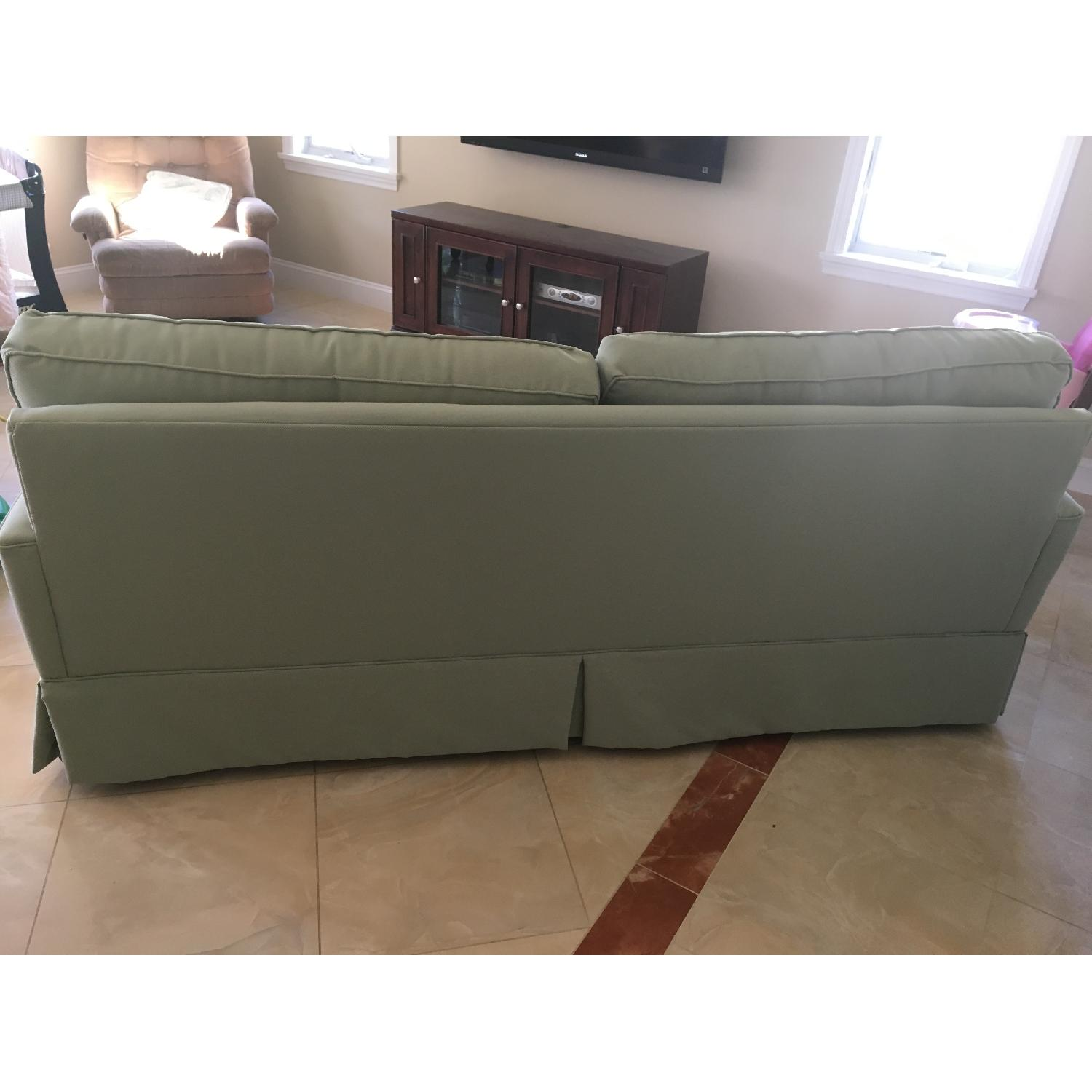 Raymour & Flanigan Sage Color Couch - image-4