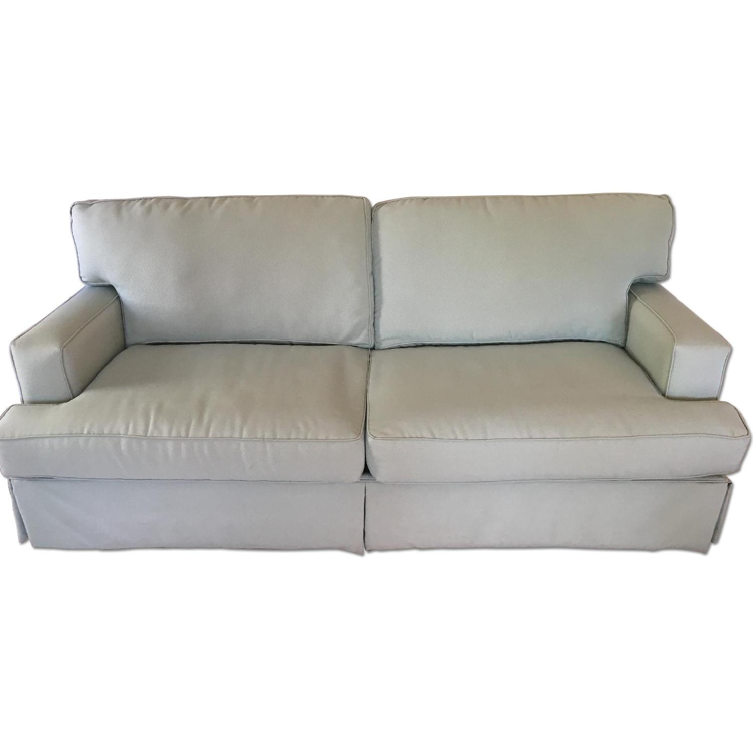 Raymour & Flanigan Sage Color Couch - image-0