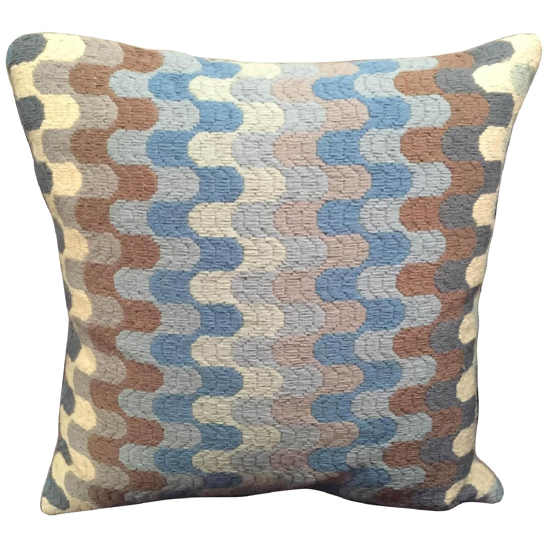 Jonathan Adler Needlepoint Pillow - image-0