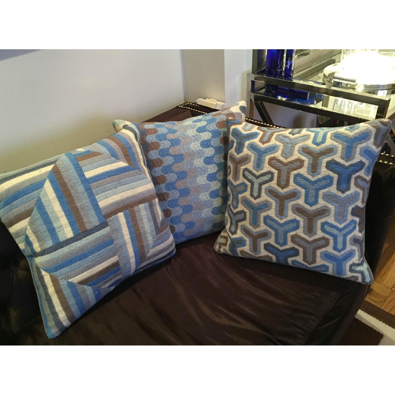 Jonathan Adler Needlepoint Pillow - image-2