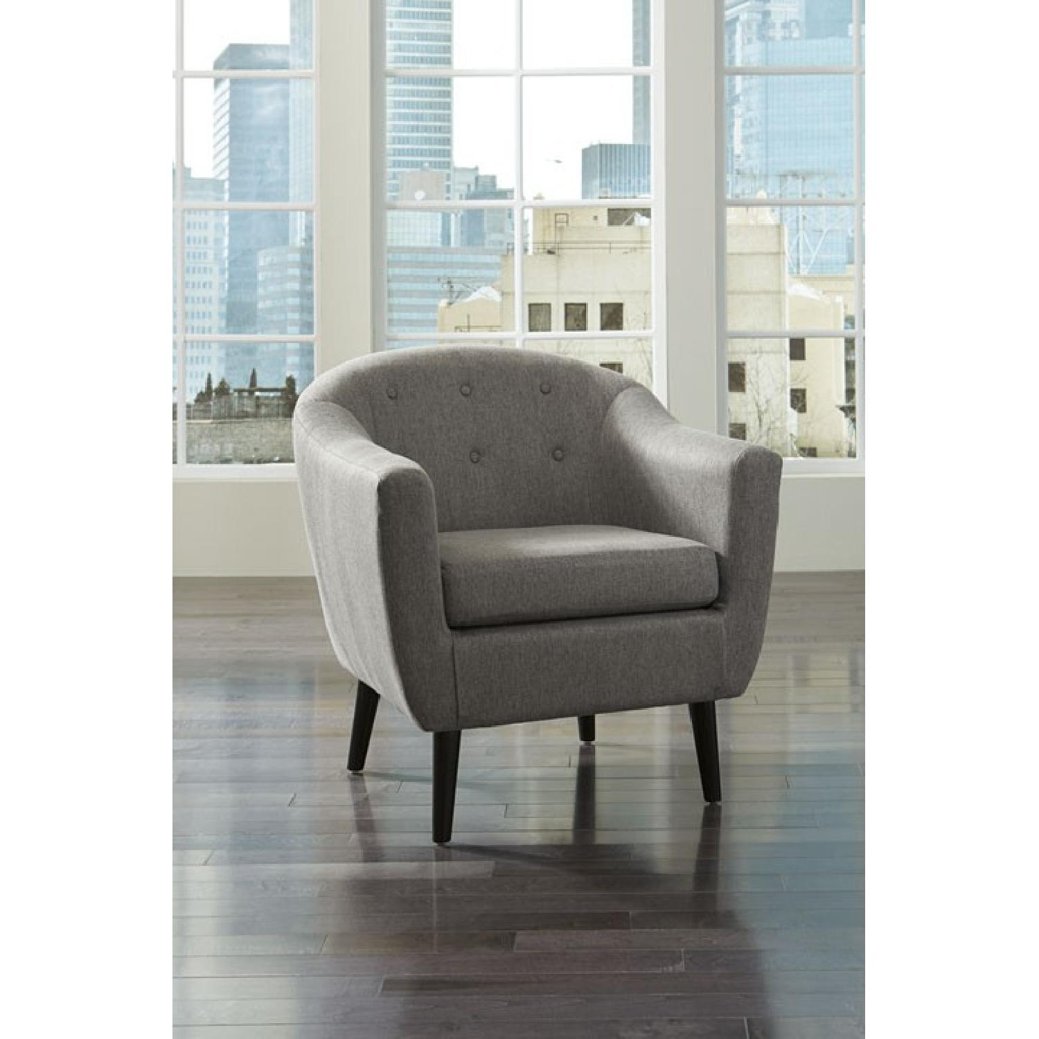 Ashley's Gray Klorey Accent Chair - image-1