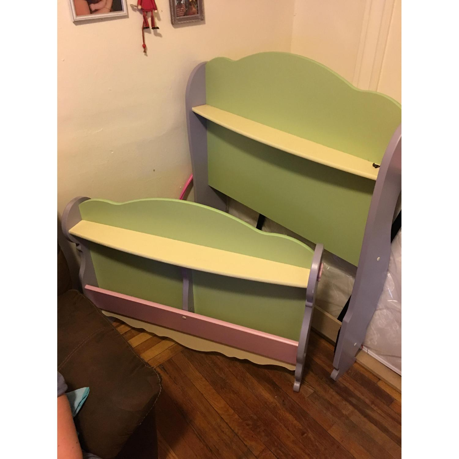 Twin Size Toddler's Bed Frame - image-1