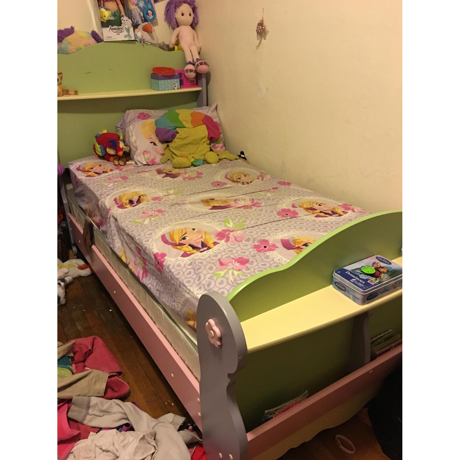 Twin Size Toddler's Bed Frame - image-3