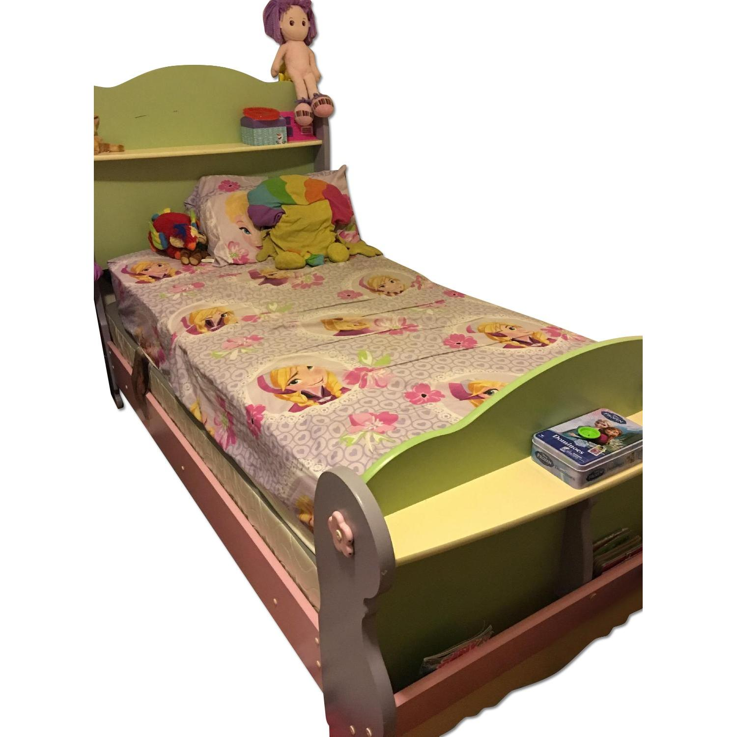 Twin Size Toddler's Bed Frame - image-4