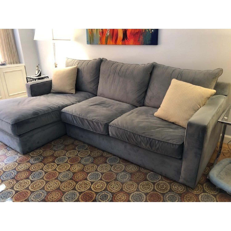 Room & Board Custom Orson Sleeper Sectional Sofa-1