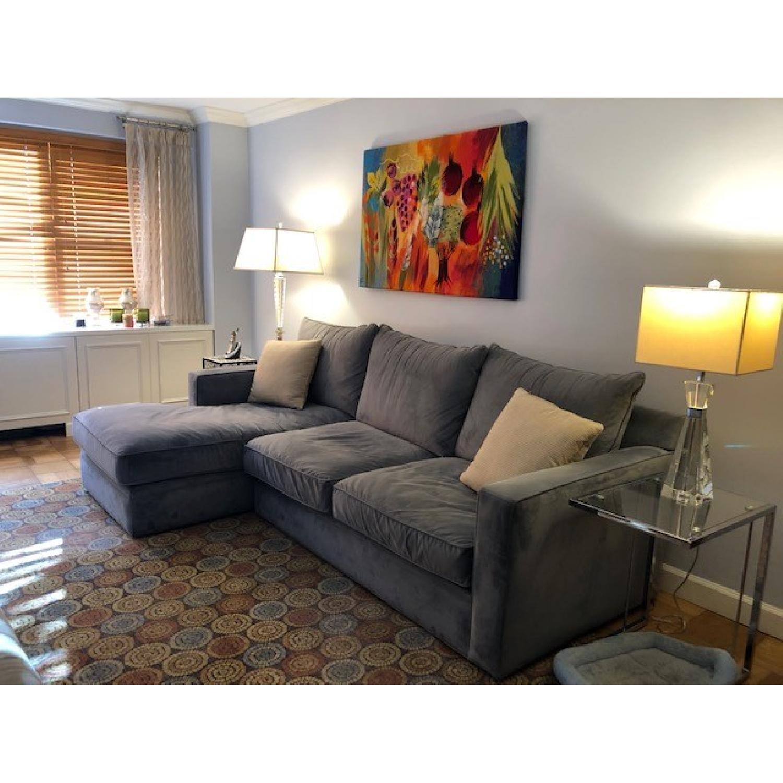 Room & Board Custom Orson Sleeper Sectional Sofa-2