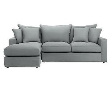 Room & Board Custom Orson Sleeper Sectional Sofa