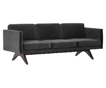 West Elm Brooklyn Sofa in Indigo