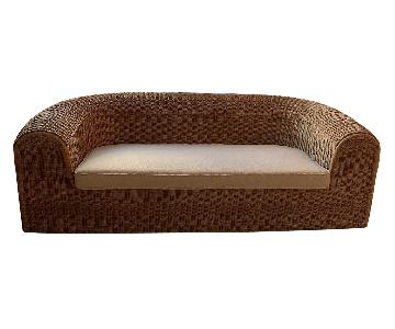 Rattan Indoor/Outdoor Sofa