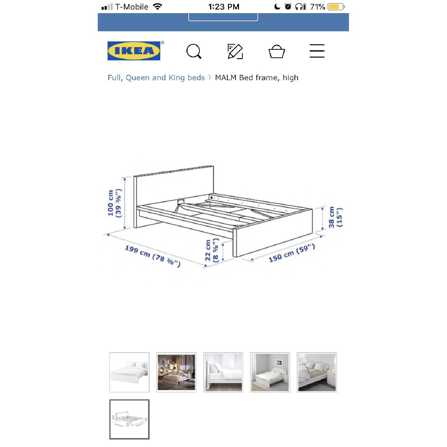 Ikea Malm Full Size Bed Frame-2