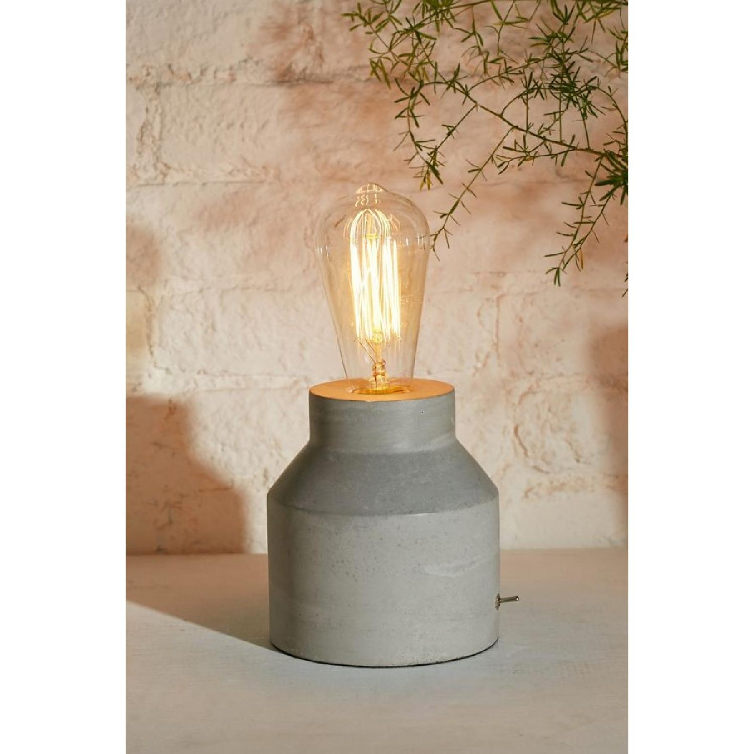 Urban Outfitters Concrete Cylinder Table Lamp-6