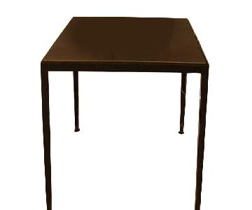 Metal/Copper Side Tables