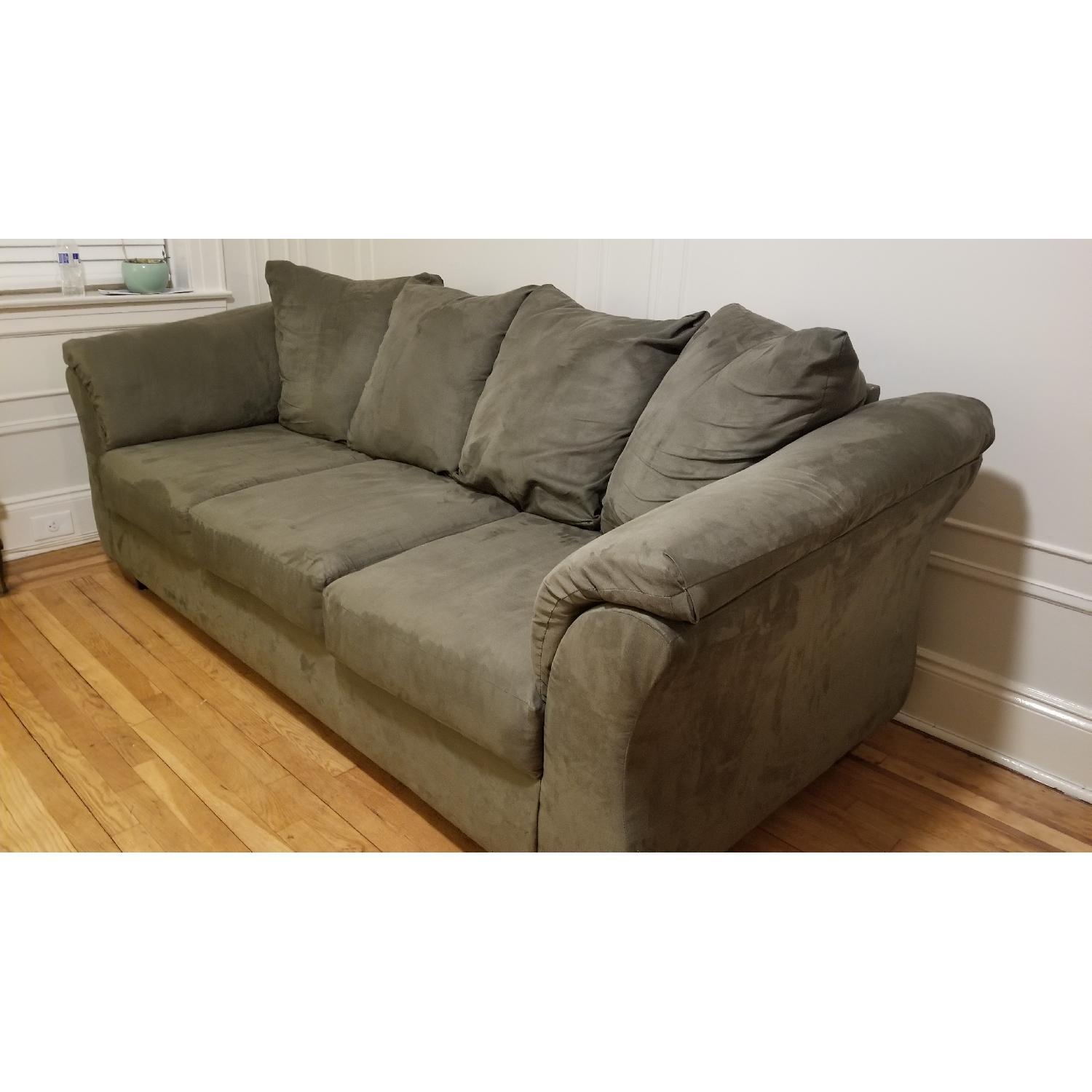 Ashley Darcy Sofa in Sage-2