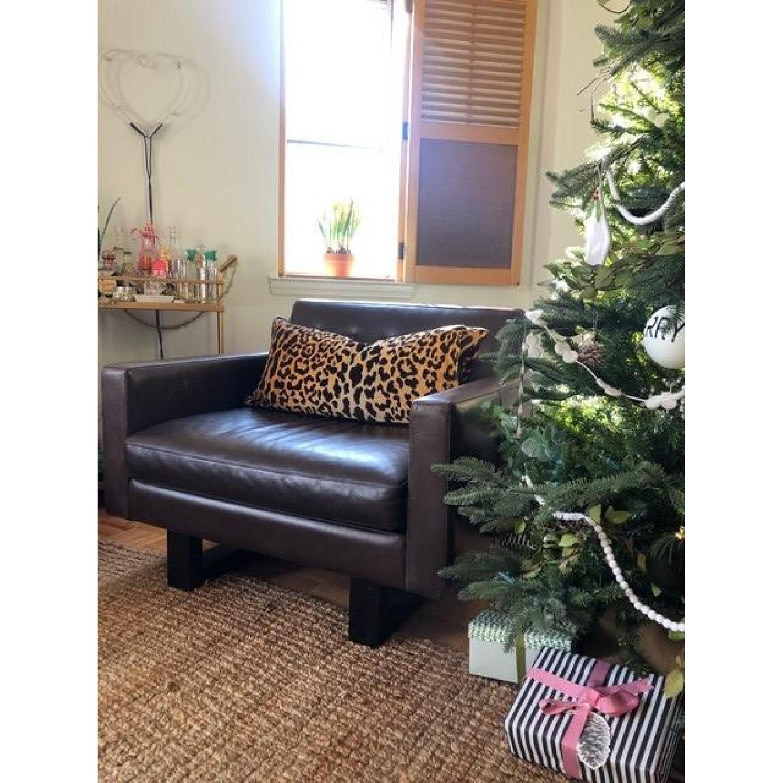 Room & Board Wells Leather Armchair-2