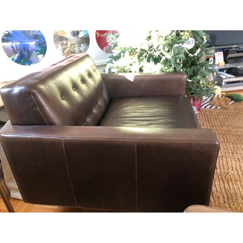 Room & Board Wells Leather Armchair-5