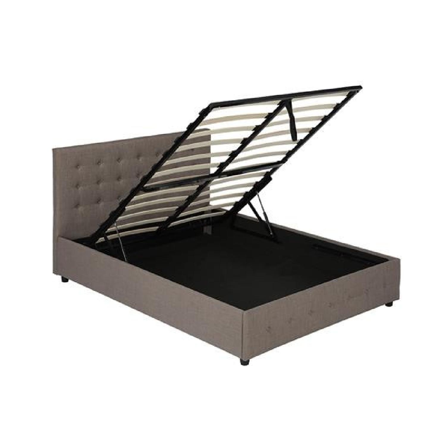 DHP Furniture Platform Bed w/ Gas Lift Storage-5