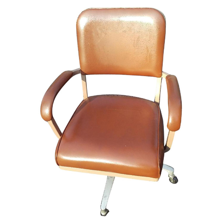 Vintage Globe Cosco Industrial Swivel Office Chair