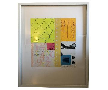 Room & Board Framed Terry Rose Art
