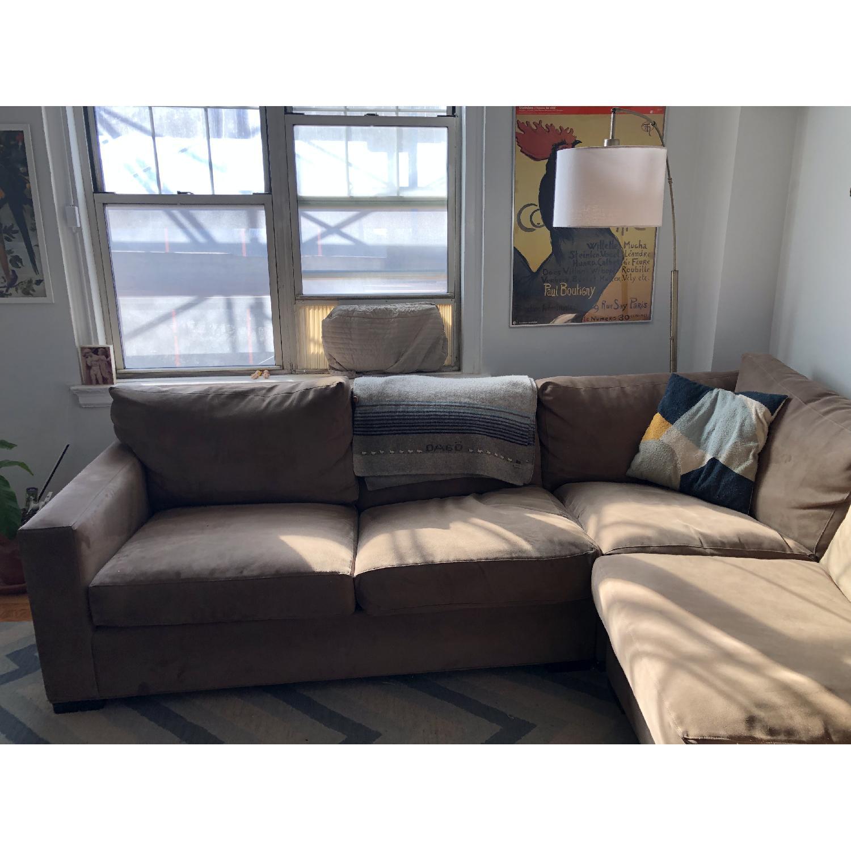 Crate & Barrel Lounge II 3-Piece Sectional Sofa-1