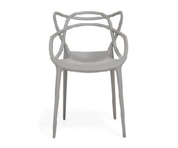 ABC Carpet & Home Kartell Masters Gray Chair