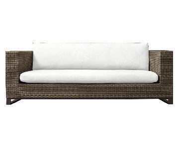 Restoration Hardware Tiburon Sofa w/ Cushions