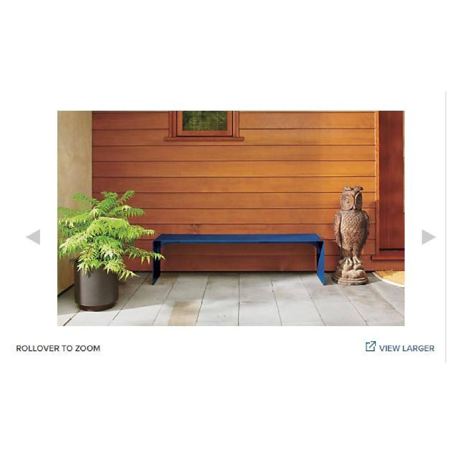Room & Board Cooper Outdoor Bench in Silver-1